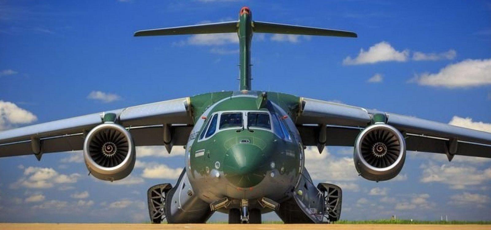 [Maior aeronave militar feita no Brasil entra em fase final de testes]