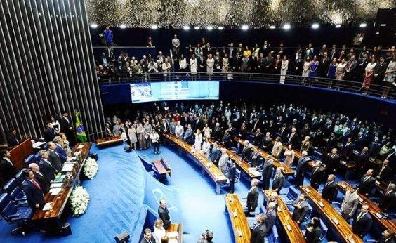 [Senado analisou 134 propostas no primeiro semestre deste ano]