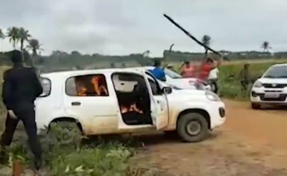 [Advogado e mais oito são presos por ataque em fazenda da Veracel em Eunápolis]