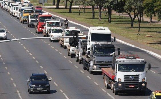[Caminhoneiros se reúnem com Ministério da Infraestrutura na quarta]