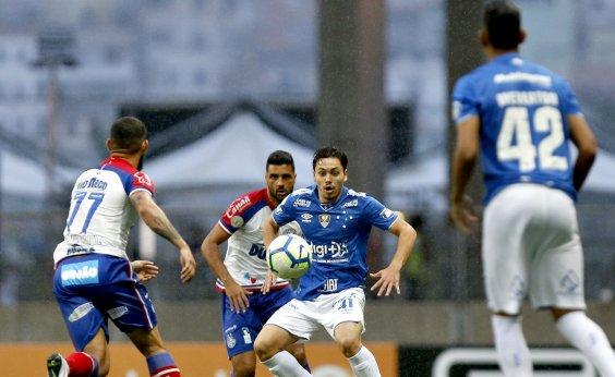 [Bahia empata sem gols com o Cruzeiro na Fonte Nova]