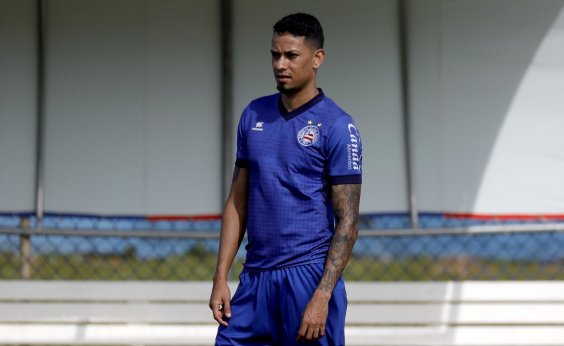 [Estreante do dia, Lucca valoriza luta do Bahia em campo: 'A equipe não deixou de tentar']