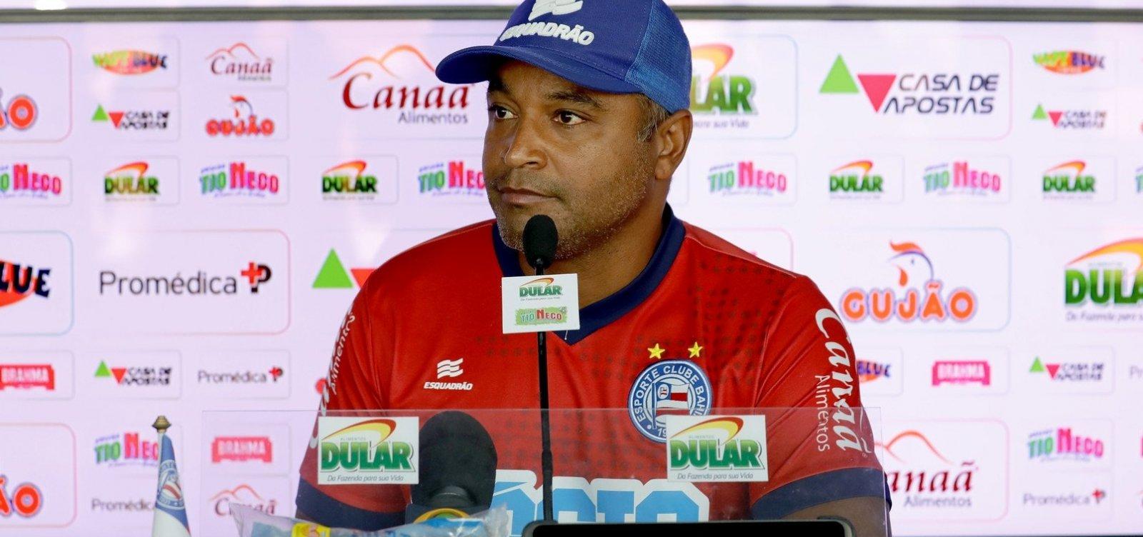 ['Foi um segundo tempo gigante', diz Roger Machado após empate entre Bahia e Cruzeiro]