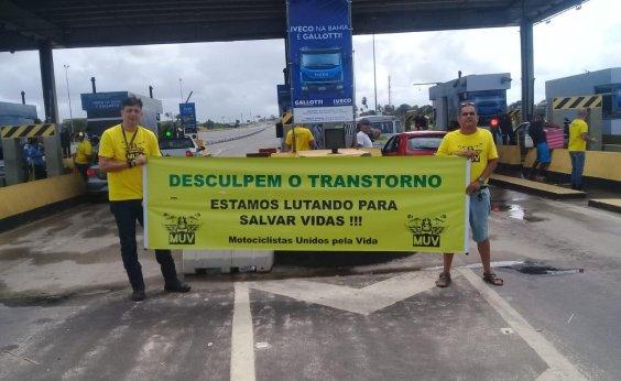 [Motociclistas fazem manifestação pacífica neste domingo]