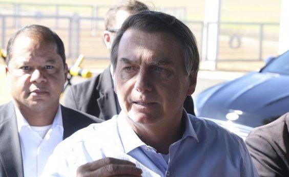 [Bolsonaro diz que governo poderá avaliar redução de multa do FGTS]