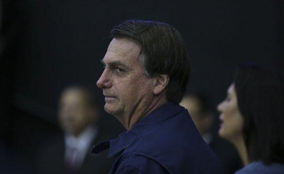 [Bolsonaro diz que divulgação de dados sobre desmatamento prejudica o Brasil]