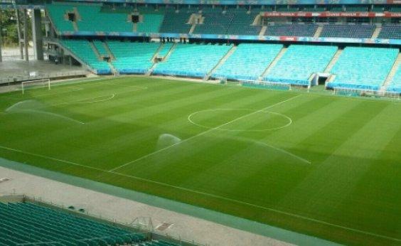 [Após críticas na Copa América, Fonte Nova realiza troca de gramado]