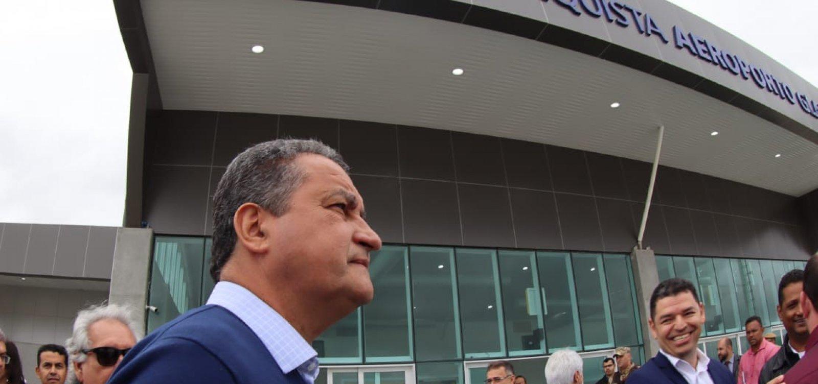 ['Não esperava na vida ver um presidente falar tanta baixaria', diz Rui sobre Bolsonaro]