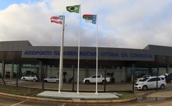 [Aeroporto de Conquista é fechado com tapumes antes da chegada de Bolsonaro]