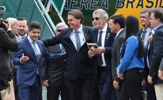 [Bolsonaro diz que ACM Neto pode ser presidente 'se Deus quiser']