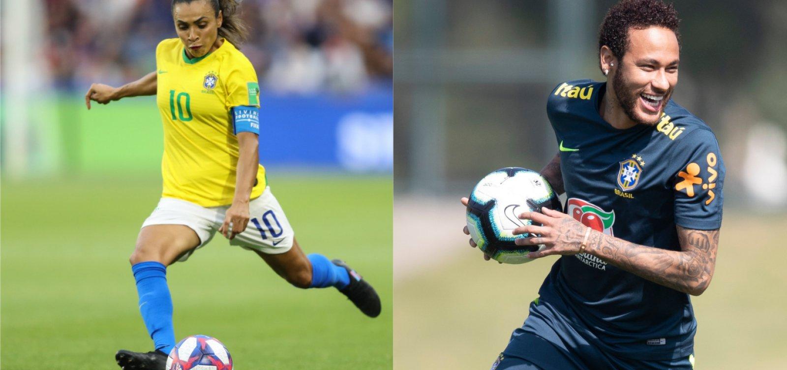 [Neymar e Marta ficam de fora da premiação de melhor do mundo da Fifa]