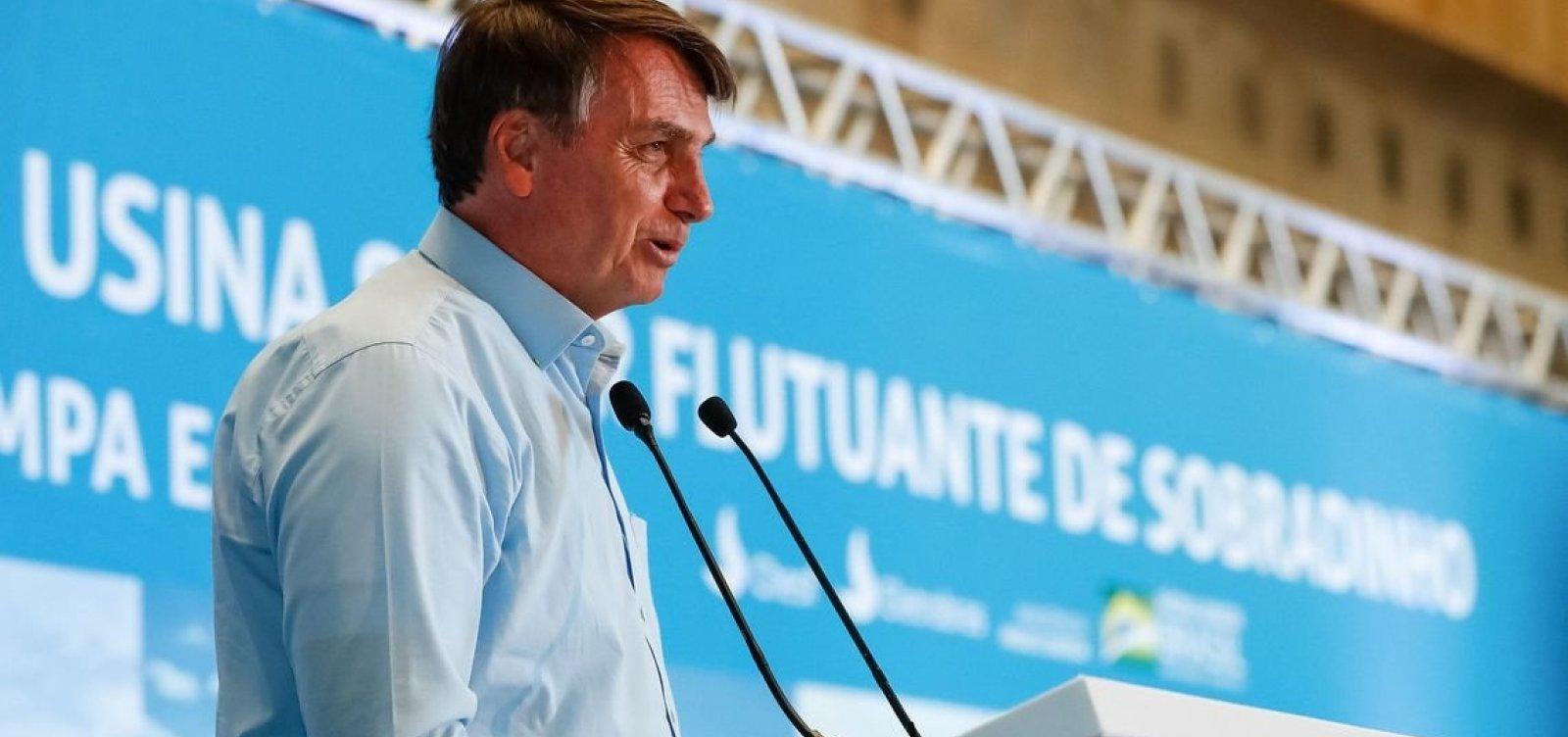 [Bolsonaro sobre Rui: 'Quem está com medo de encarar seu próprio povo é ele']