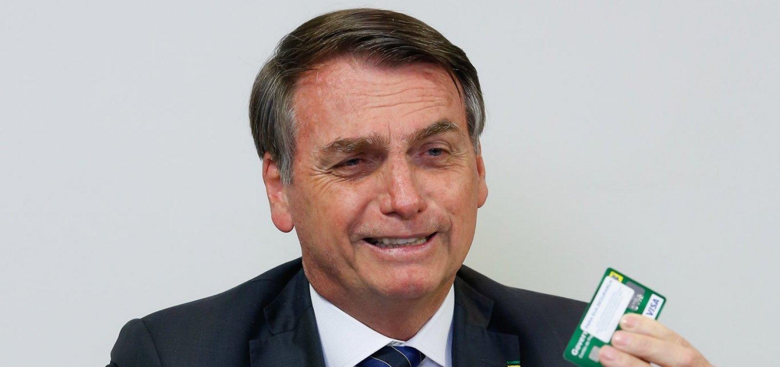 [Bolsonaro sugere 'fazer cocô dia sim, dia não' para salvar o meio ambiente]