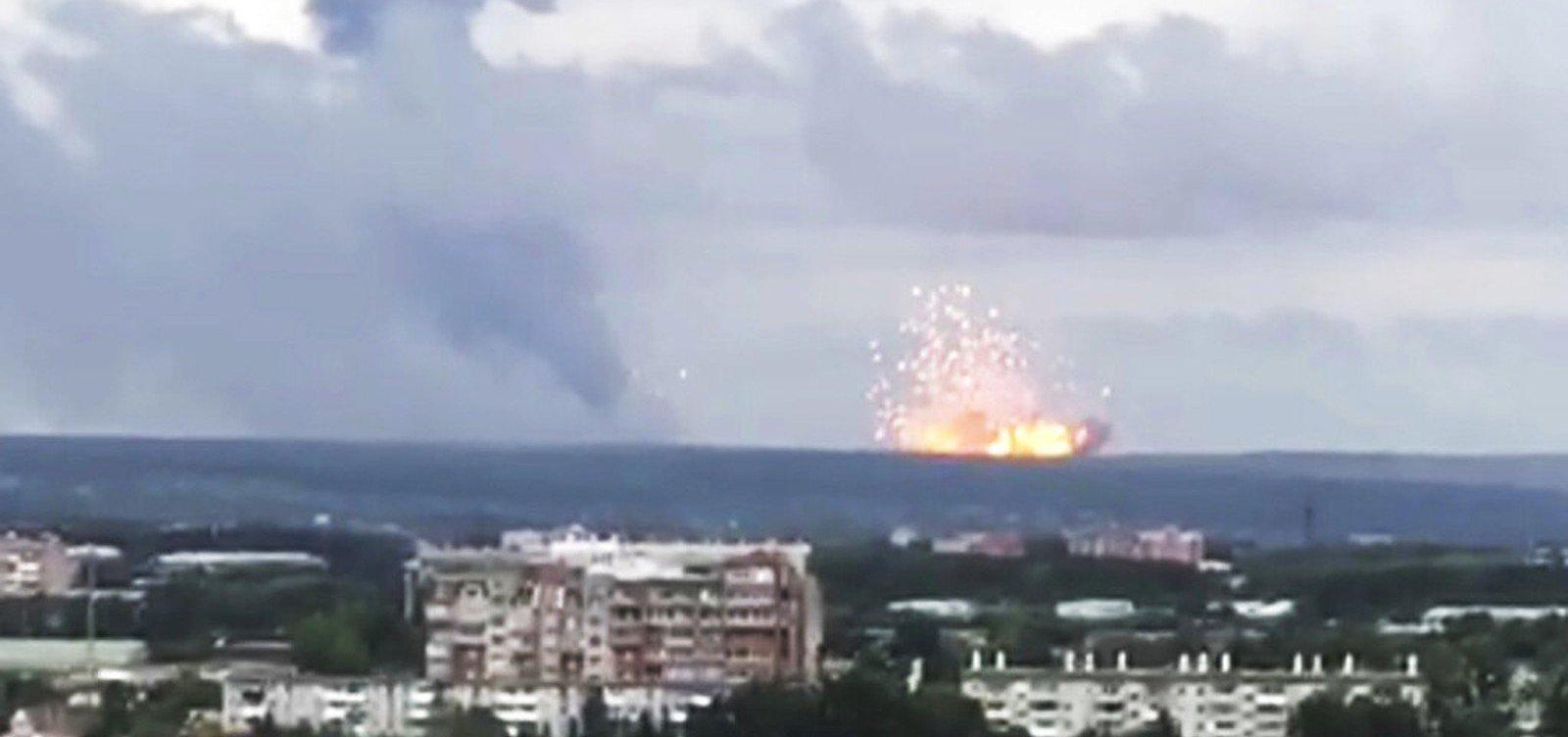 [Explosão russa que deixou cinco mortos teve caráter nuclear]
