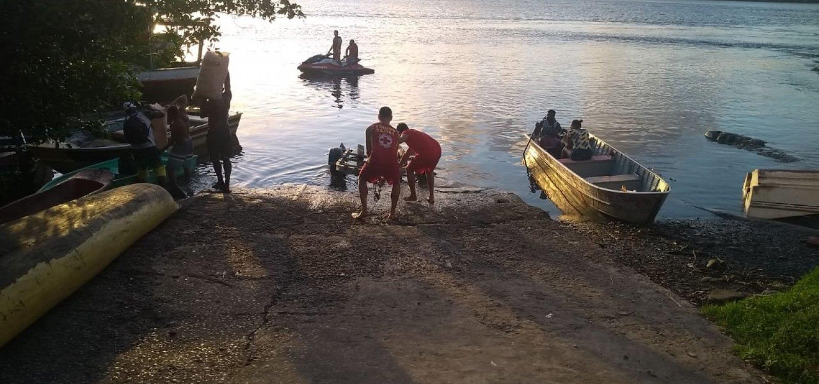[Corpo é encontrado por mergulhadores do Corpo de Bombeiros em praia de Itacaré]