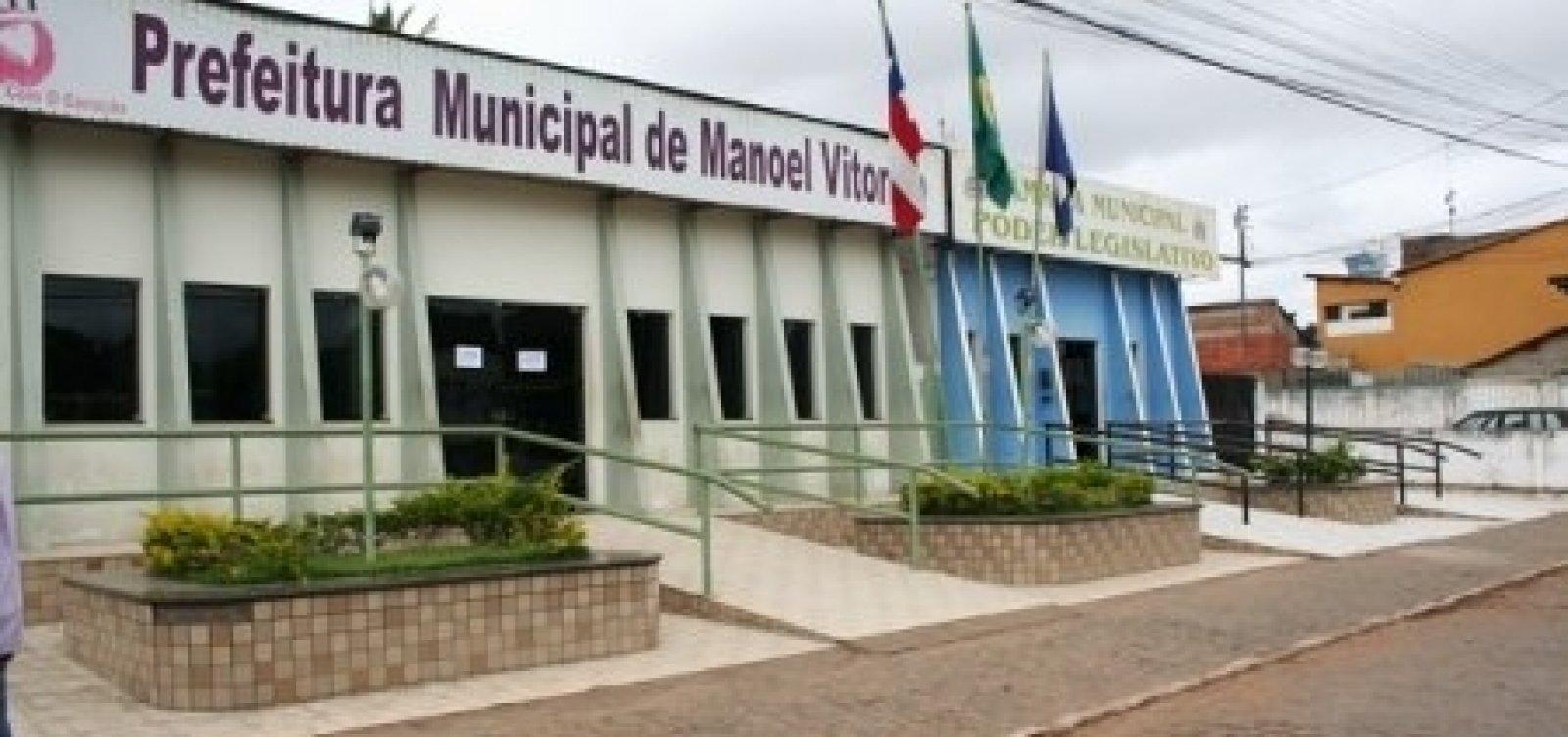 [Manoel Vitorino: MP pede que prefeitura pague multa por descumprimento de acordo]