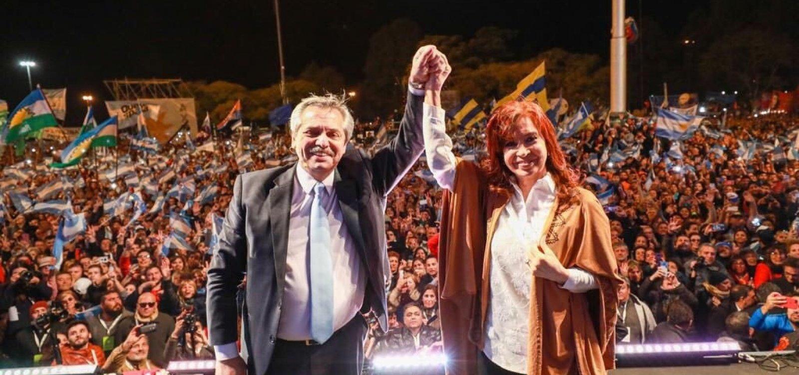 ['Racista, misógino, violento', diz candidato da oposição argentina sobre Bolsonaro]