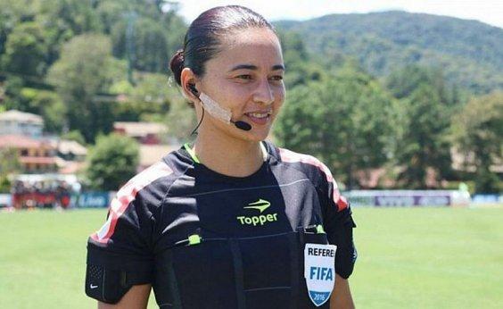[Edina Alves será a primeira mulher a apitar final de Campeonato Brasileiro]