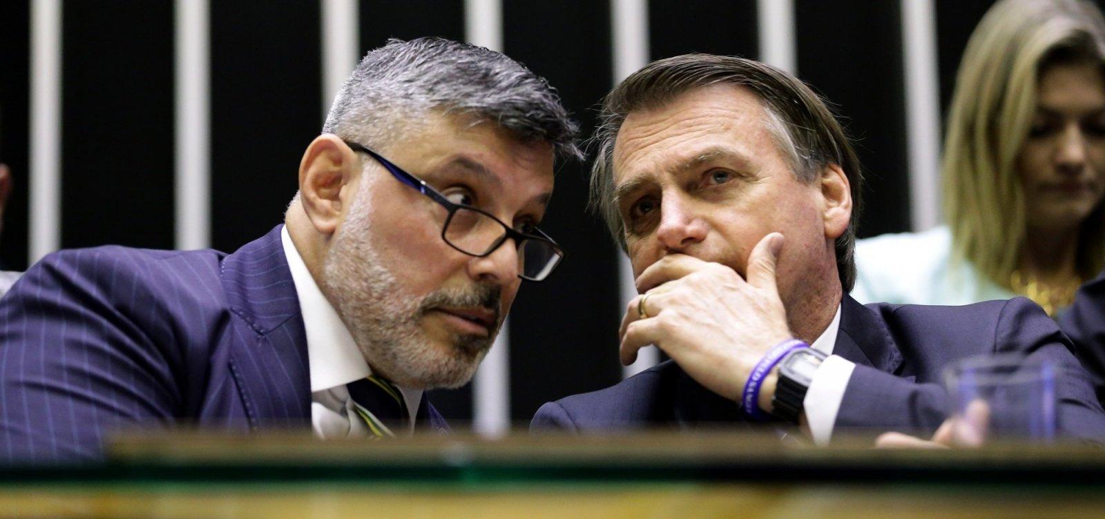 [Bolsonaro diz que não conhece Alexandre Frota: 'Sei nem quem é esse']