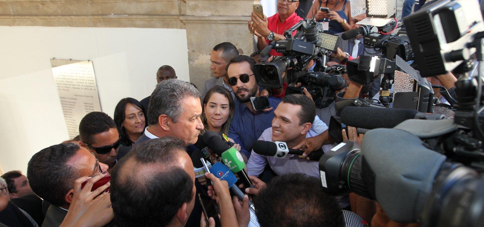 [Após boato, Rui Costa descarta possibilidade de greve da PM-BA]