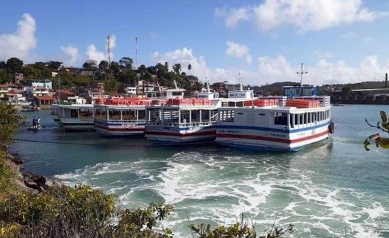 [Travessia Salvador-Mar Grande segue suspensa devido aos ventos fortes]