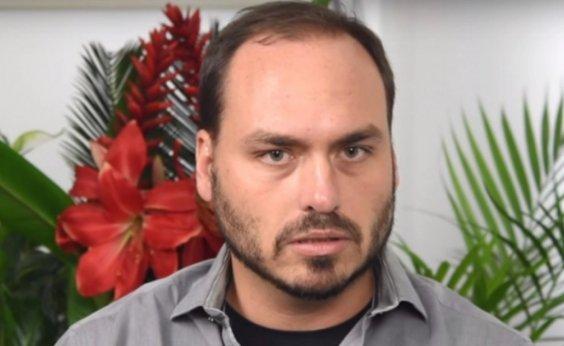 [Carlos Bolsonaro publica lista de transações suspeitas que inclui irmão]