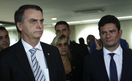 [Moro se recusa a responder sobre documentos que deu a Bolsonaro sobre 'laranjas' do PSL]