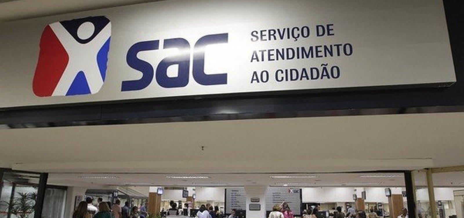 [Postos do SAC no Shopping Barra e em Simões Filho terão mudança no atendimento]