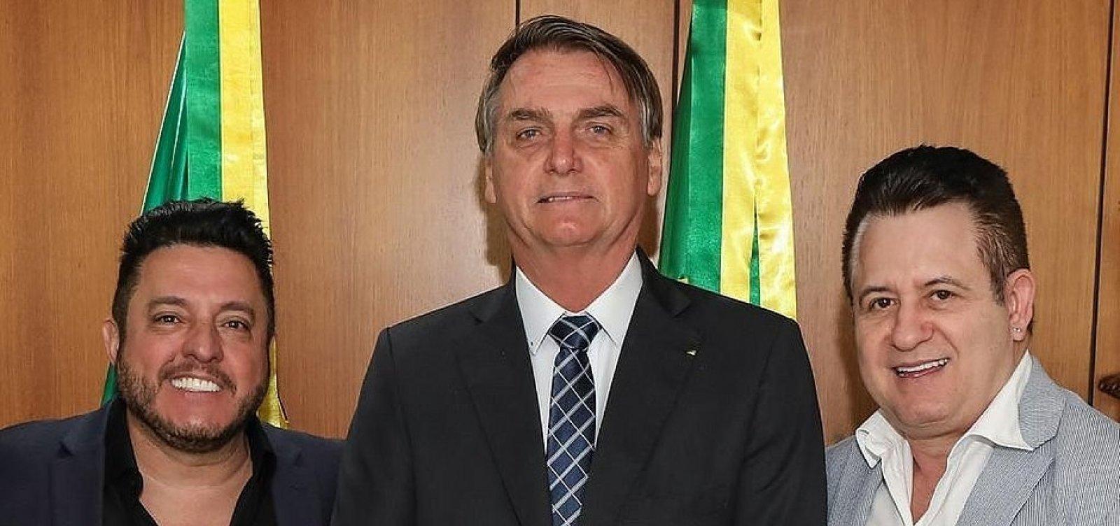 [Bruno e Marrone se tornam embaixadores do turismo brasileiro]