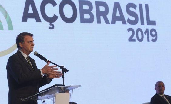 [Bolsonaro pede a empresários brasileiros apoio à reeleição do presidente argentino]