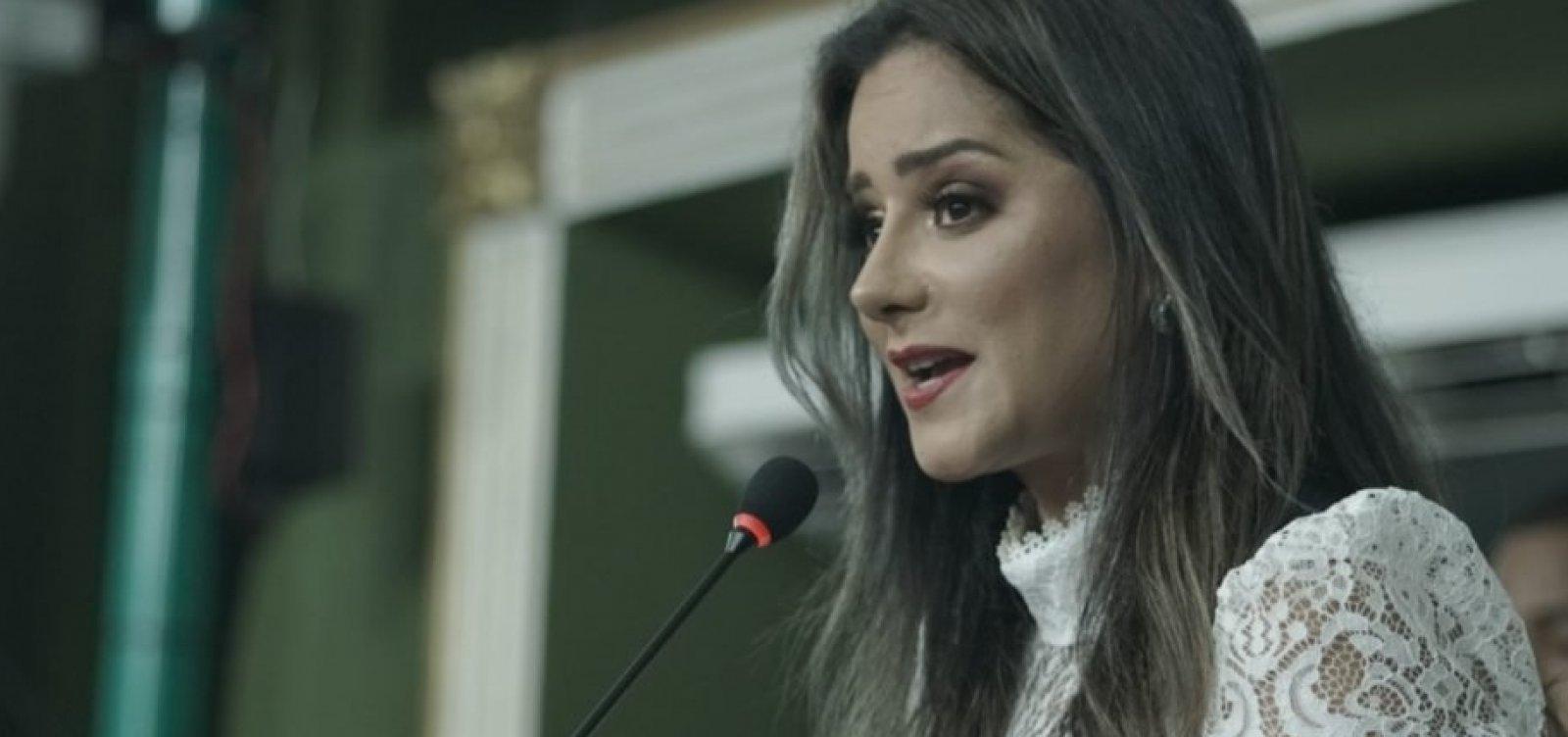 ['A limitação é inconstitucional', afirma Lorena Brandão sobre projeto dos aplicativos]
