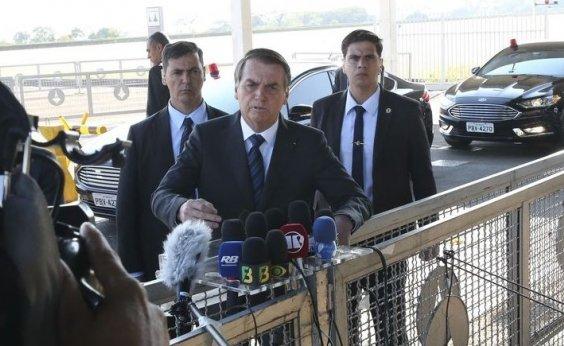 [Bolsonaro afirma estar disposto a falar sobre 'nova CPMF' com Guedes]