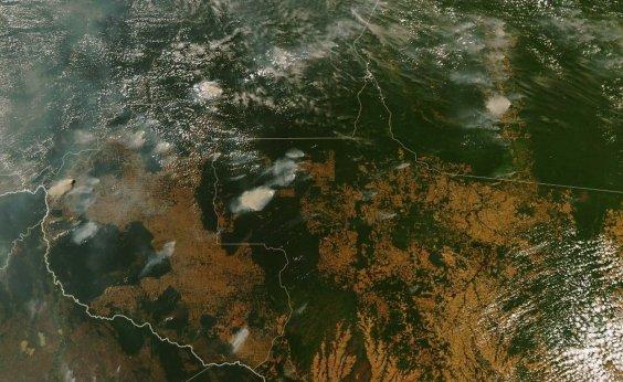 [Nasa diz que focos de incêndio na Amazônia têm assinatura do desmatamento ]