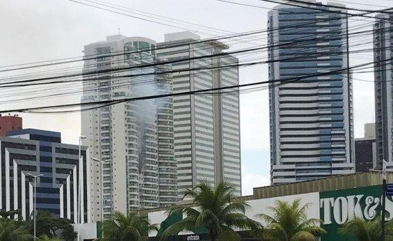 [Apartamento de luxo na Tancredo Neves, em Salvador, pega fogo; veja vídeo]