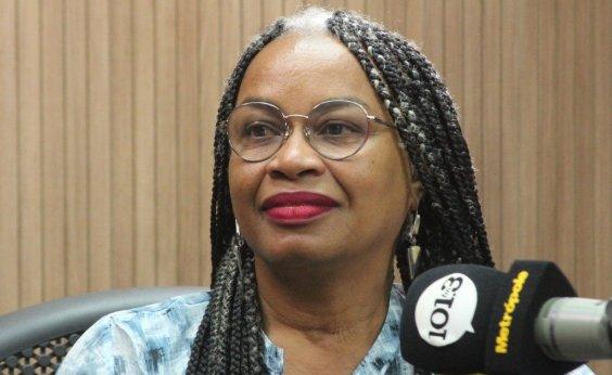 [Olívia Santana diz que é pré-candidata à Prefeitura de Salvador: 'Estou disposta']