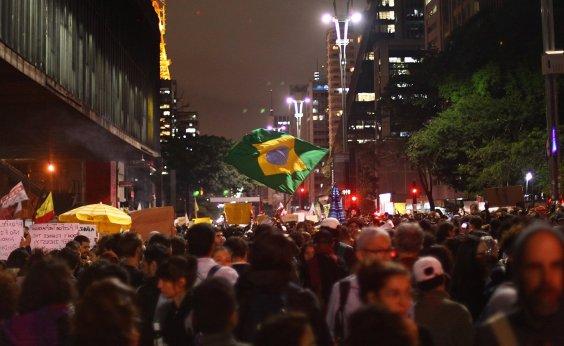[Manifestantes ocupam as ruas em defesa da Amazônia]