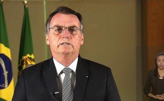 [Bolsonaro é alvo de panelaço durante pronunciamento]