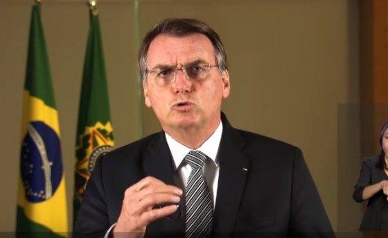 [Bolsonaro diz que incêndios não podem gerar sanções ao Brasil]