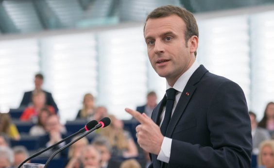 [Macron promete mobilização em prol da Amazônia]