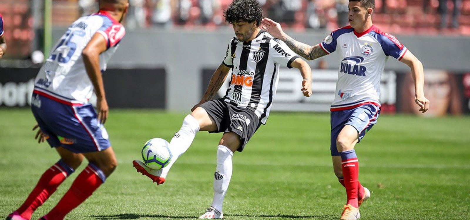 [Bahia vence o Atlético-MG fora de casa por 1 a 0]