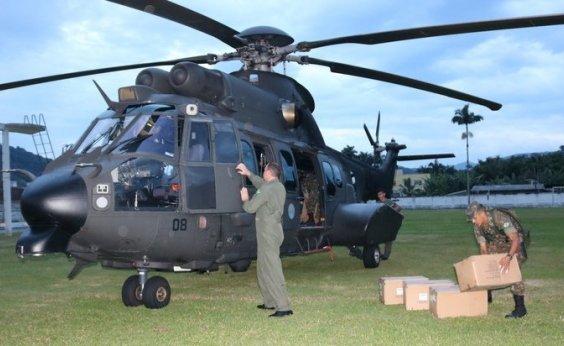 [Quatro estados pedem ajuda das Forças Armadas para combater incêndios]
