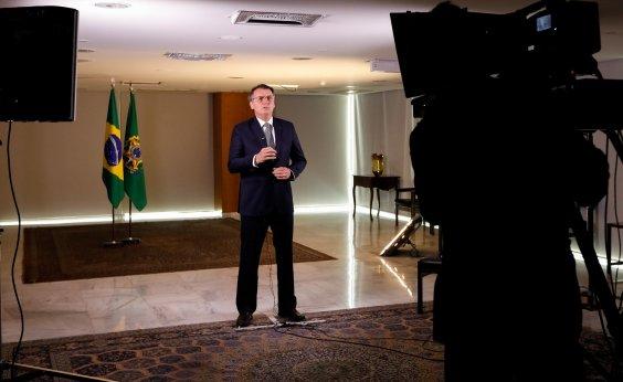 [Presidente contraria dados do governo e afirma que fogo é restrito a regiões desmatadas]