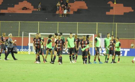 [Vitória empata sem gols com o Operário-PR no Barradão]