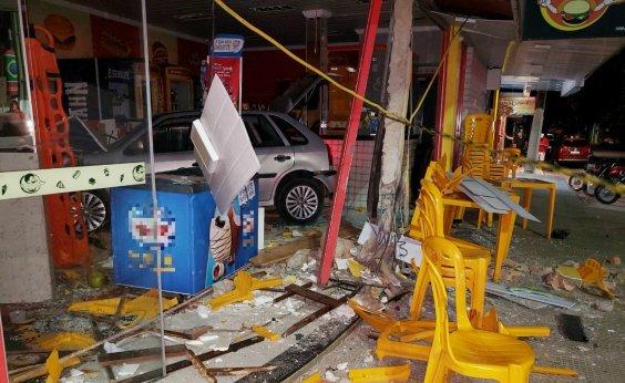 [Motorista embriagada perde controle de carro, invade pizzaria e mata mulher em Barreiras]