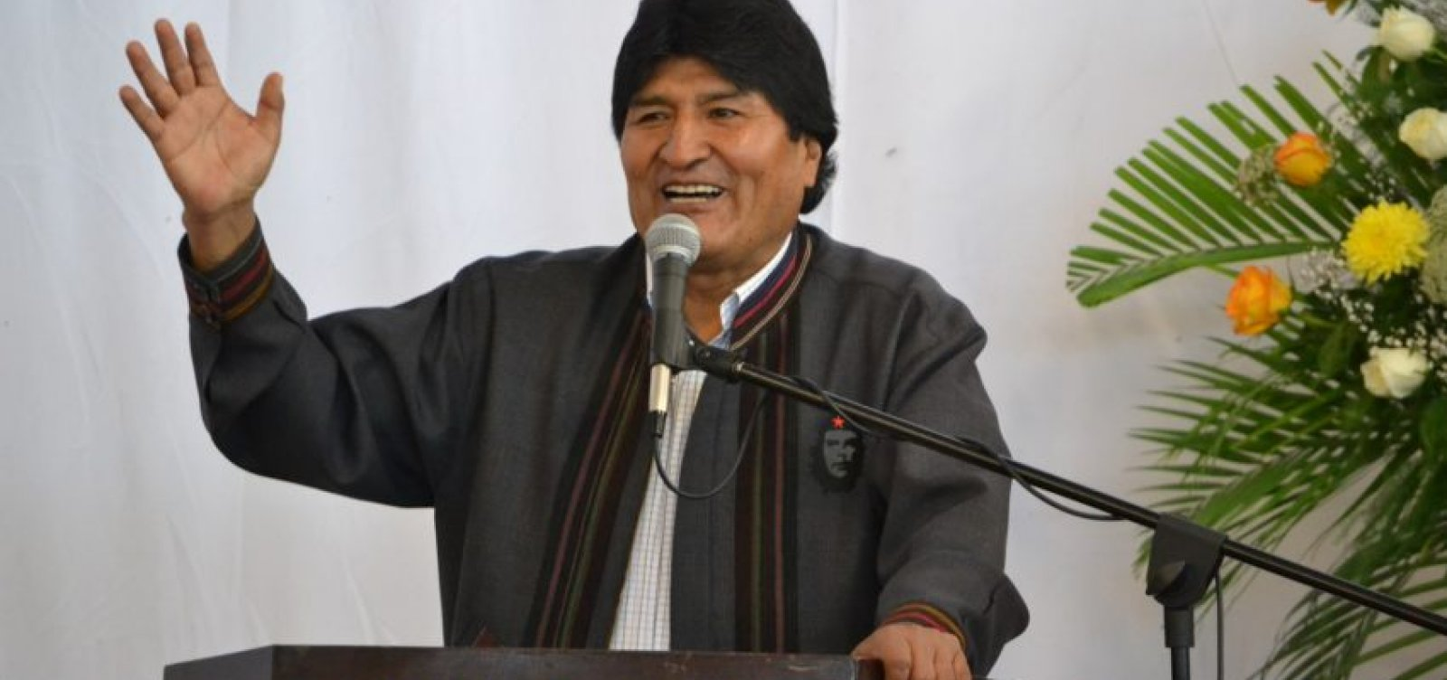 [Evo Morales diz que Bolívia está aberta a ajuda no combate a incêndios e suspende campanha eleitoral]