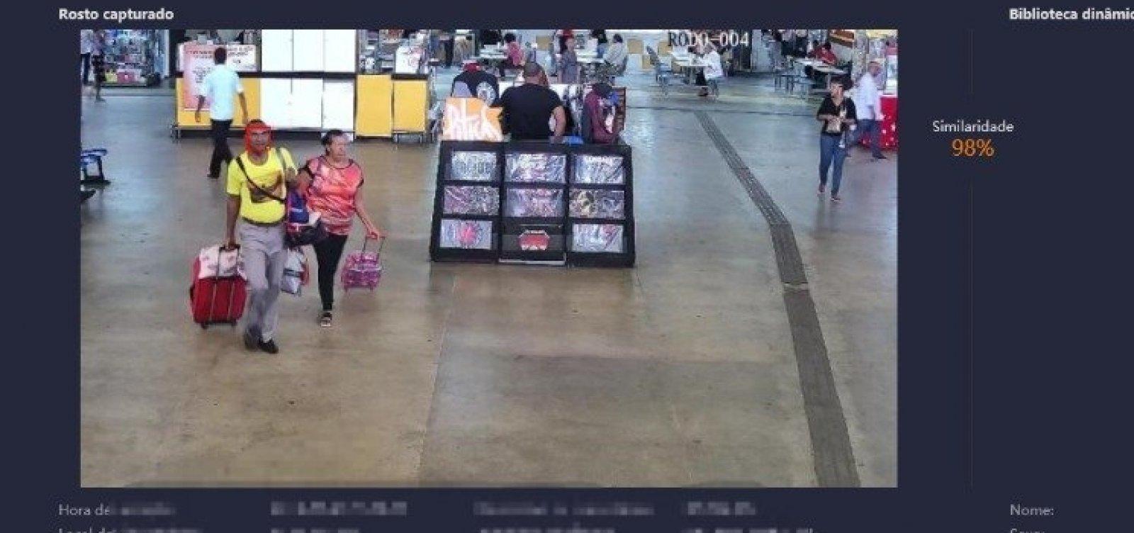 [Homem é preso em Salvador após ser flagrado por reconhecimento facial]