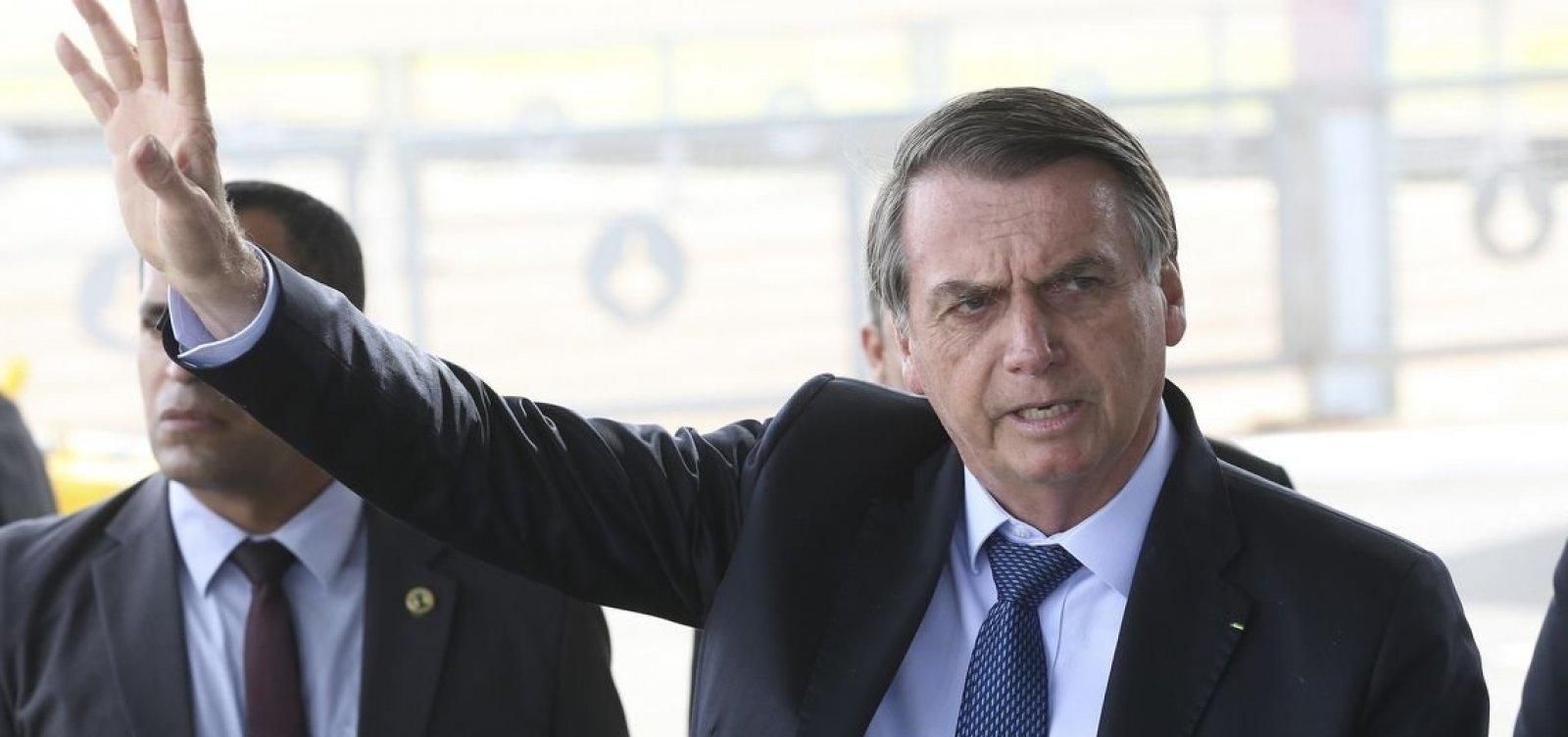 ['Um dos dois, ou os dois perderão a cabeça', diz Bolsonaro sobre funcionários de Economia]
