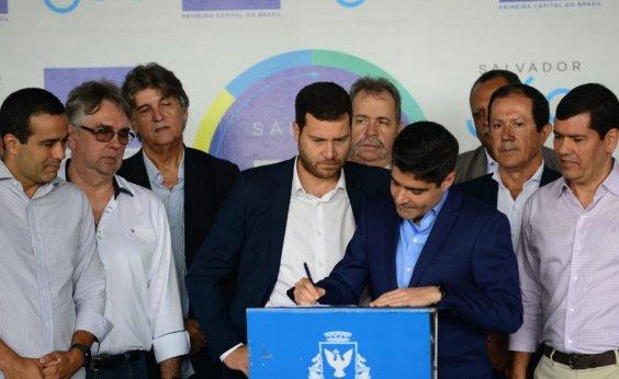 [Centro de Convenções municipal terá 'infraestrutura invejável', diz Isaac Edington]