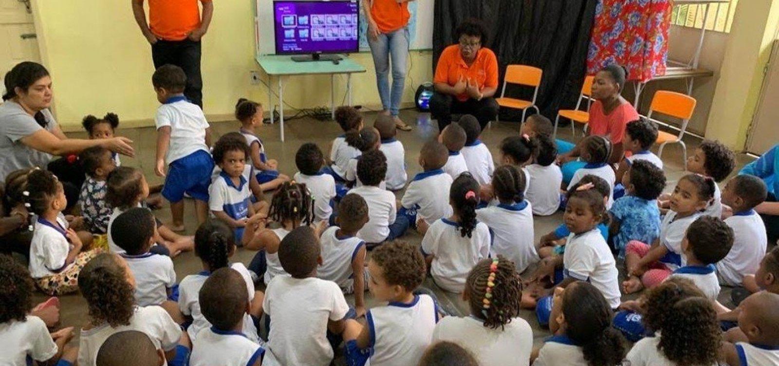 [Prefeitura inicia cadastramento para alunos novos da Educação Infantil ]