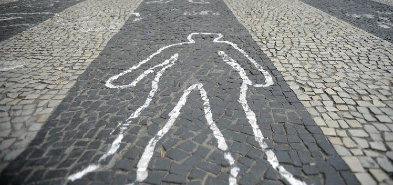 [Brasil registra redução de 10,43% nas mortes violentas intencionais]